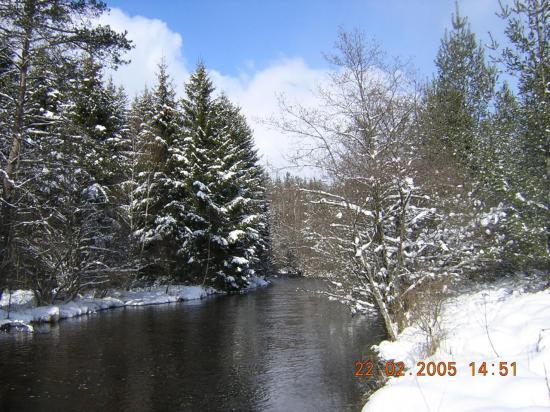 Le parcours d'Arvis en hiver auteur l.g.